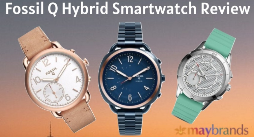 Fossil Q Hybrid Smartwatch, Hybrid Smartwatch Review, How to Pair Fossil Smartwatch